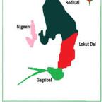 Figure 2:Parts of Dal Lake