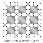 Figure 4: Network Structure of 2D CA