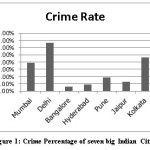 Figure 1: Crime Percentage of seven big Indian Cities